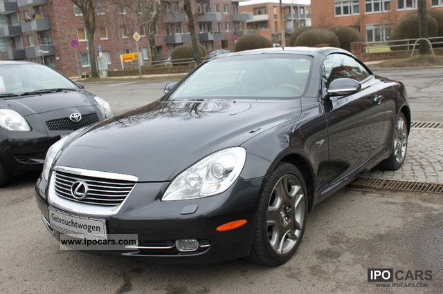 2006 lexus sc 430 vollausstatung leather navi car. Black Bedroom Furniture Sets. Home Design Ideas