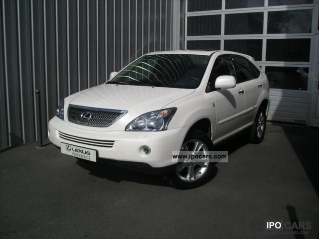 Lexus  RX 400 3.3 V6 Pack president 2008 Hybrid Cars photo