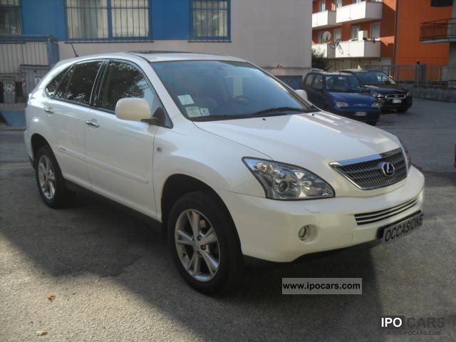 Lexus  RX 400h Ambassador Prezzo trattabile! 2008 Hybrid Cars photo