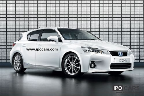 Lexus  CT200h Hybrid Dynamic leather, Navi, LED 2009 Hybrid Cars photo