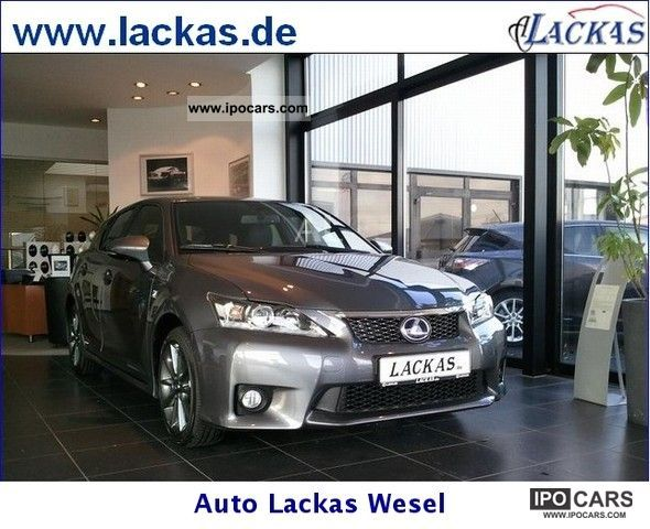 Lexus  CT 200h hybrid-drive F-Sport Navigation 2012 Hybrid Cars photo