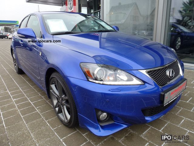 2012 lexus is 250 f sport car photo and specs. Black Bedroom Furniture Sets. Home Design Ideas