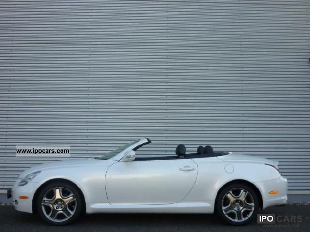 2008 Lexus Sc 430 Convertible Car Photo And Specs