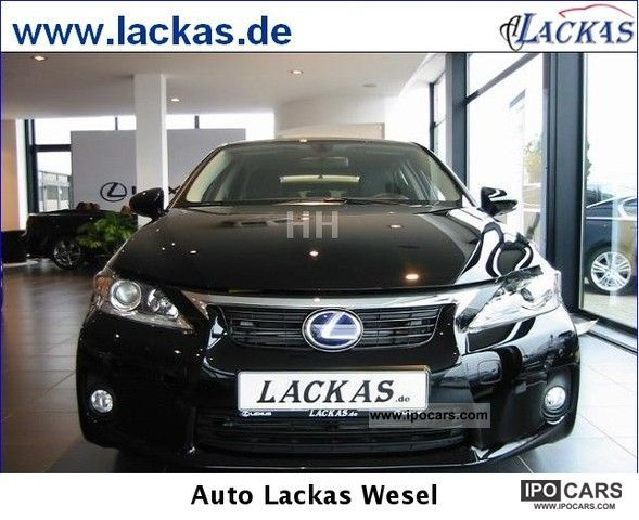 Lexus  CT 200h Line Impression Large selection of LED navigation 2012 Hybrid Cars photo