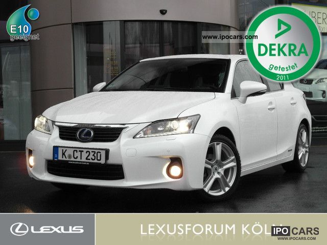 Lexus  CT 200h Luxury Line Navigation Sunroof! 2012 Hybrid Cars photo