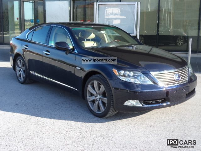2007 Lexus  LS 600h President-Vollaustatung-4X4 Limousine Used vehicle photo