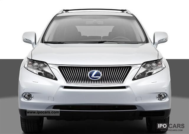 2011 Lexus  RX450h = 2010 = Off-road Vehicle/Pickup Truck New vehicle 			(business photo