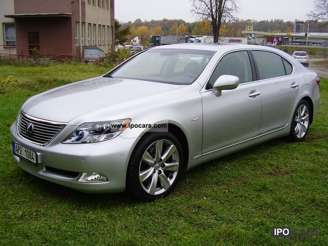 Lexus  LS 600 hl, FULL, 4X4 2007 Hybrid Cars photo