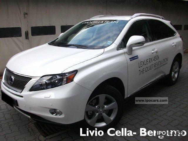 Lexus  RX 450h FWD \ 2011 Hybrid Cars photo