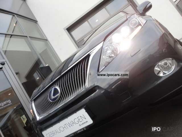 Lexus  RX 450h HYBRID Ambience Line EURO ** 5 ** 2011 Hybrid Cars photo