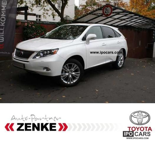 Lexus  RX 450h Executive Line Navi Leather Sunroof 2012 Hybrid Cars photo