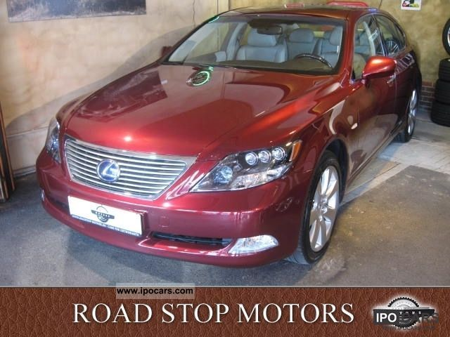 Lexus  LS 600h president, 1.Hd., Entertainment 2007 Hybrid Cars photo