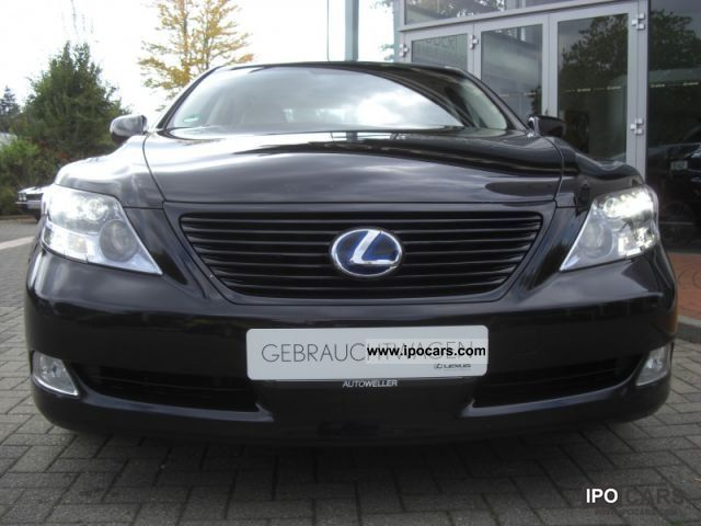 2008 lexus ls 600h ambience with navi camera leather. Black Bedroom Furniture Sets. Home Design Ideas
