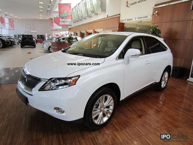 Lexus  RX 450 Executive 2011 Hybrid Cars photo