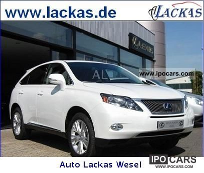 Lexus  RX 450h (hybrid) Executive Line sunroof 2012 Hybrid Cars photo