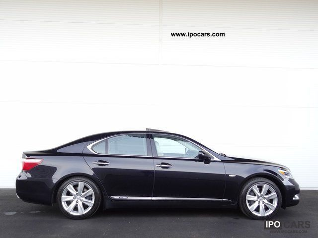 2008 lexus ls 600h 4wd aut car photo and specs. Black Bedroom Furniture Sets. Home Design Ideas