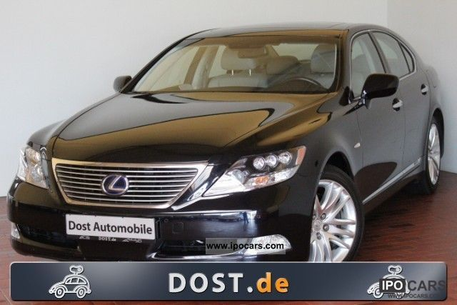 Lexus  LS 600 h Ambience Air Navi leather electric seats 2008 Hybrid Cars photo