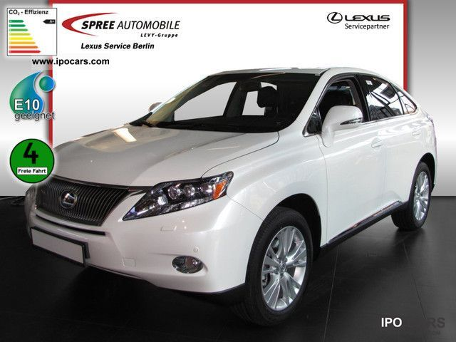 Lexus  RX 450h hybrid ExecutiveLine LEATHER NAVIGATION 2012 Hybrid Cars photo