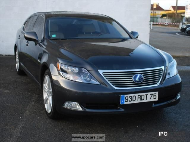 Lexus  LS 600 L pack President 2008 Hybrid Cars photo