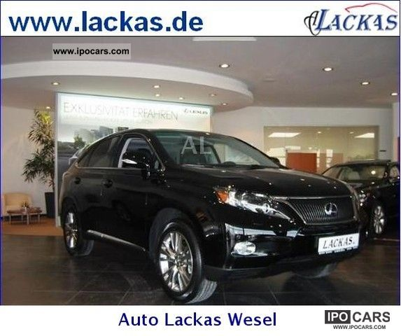 Lexus  RX 450h (hybrid) Limited Edition panoramic roof 2012 Hybrid Cars photo