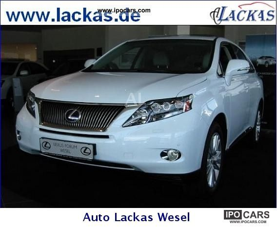 Lexus  RX 450h (hybrid) Executive Line LED navigation 2012 Hybrid Cars photo