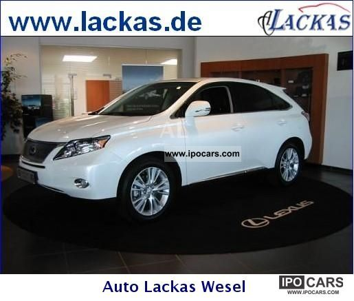 2012 Lexus RX 450h (hybrid) Executive Line LED Navigation