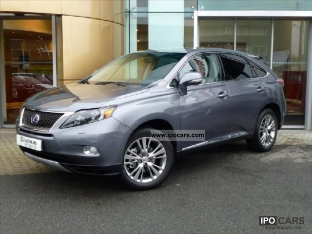 Lexus  RX 450 3.5 V6 Shadow Line 2011 Hybrid Cars photo