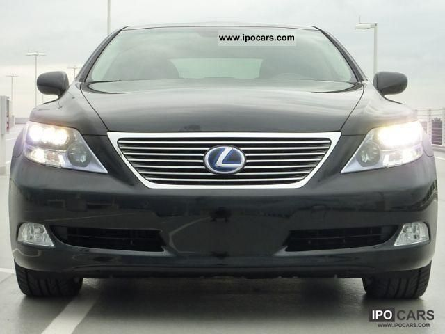 Lexus  LS600h AWD = 2010 = (T1 exports -25.9%) 2011 Hybrid Cars photo