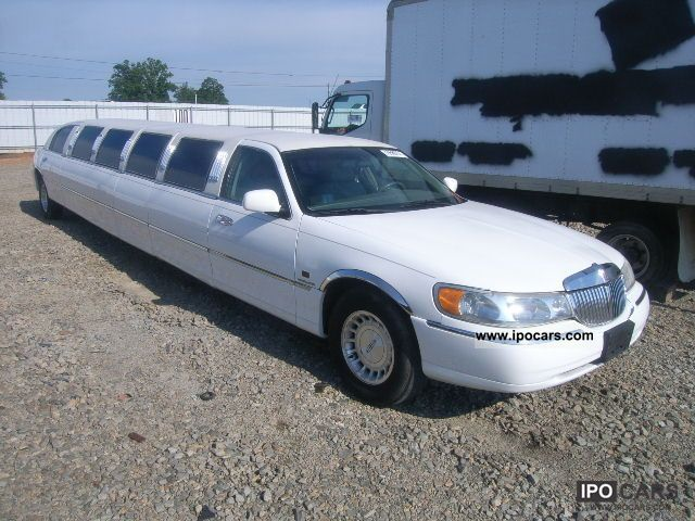 1998 Lincoln  TOWN CAR Limousine Used vehicle (business photo