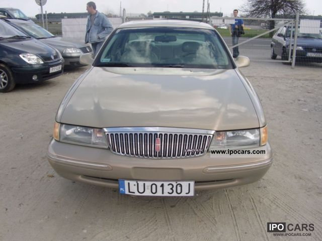 Lincoln  Continental 4.6 * B + * GAZ * ZAREJESTROWANY 1996 Liquefied Petroleum Gas Cars (LPG, GPL, propane) photo