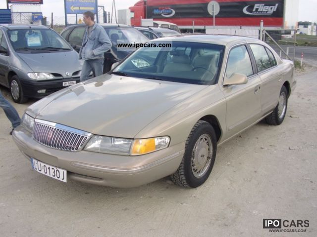1996 lincoln continental 4 6 b gaz zarejestrowany car photo and specs. Black Bedroom Furniture Sets. Home Design Ideas