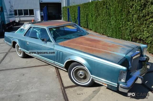 1979 Lincoln  Continental Sports car/Coupe Classic Vehicle photo