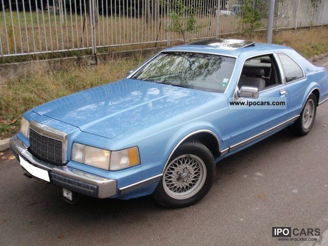 1990 Lincoln  Continental Mark VII Sports car/Coupe Used vehicle photo