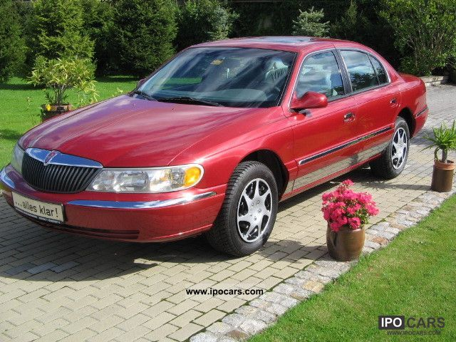 2000 Lincoln  Continental, looking wheels from 18inch Limousine Used vehicle photo