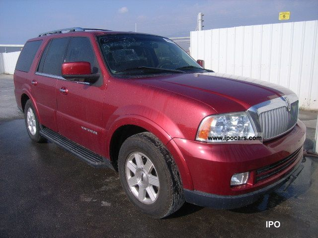 2005 lincoln navigator car photo and specs. Black Bedroom Furniture Sets. Home Design Ideas