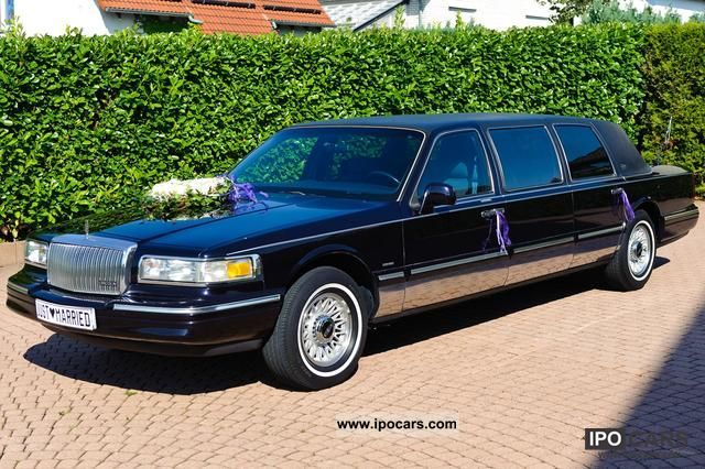 1996 Lincoln Town Car Stretch Limousine Mini 6 45 M Used Vehicle Photo