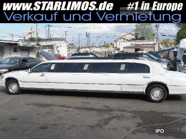 2001 Lincoln  Town Car Limousine 8,6 m j-seat 8318 EU exports Limousine Used vehicle photo