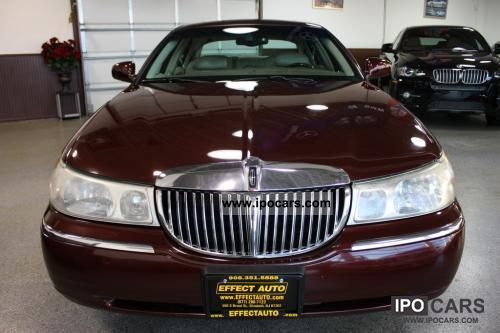 2001 Lincoln Town Car Cartier Car Photo And Specs