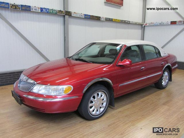 1999 Lincoln  Continental Luxury Sedan Limousine Used vehicle photo