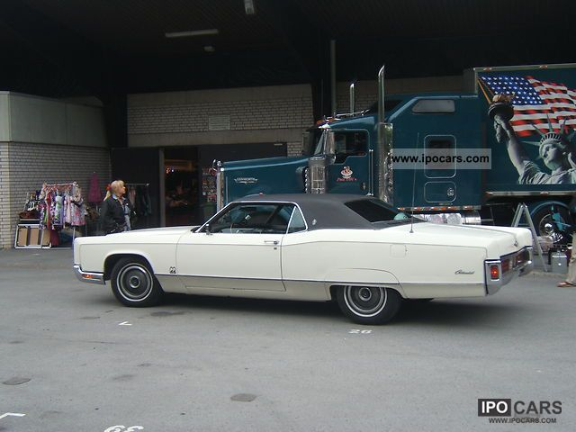 1970 Lincoln  Continental Sports car/Coupe Used vehicle photo