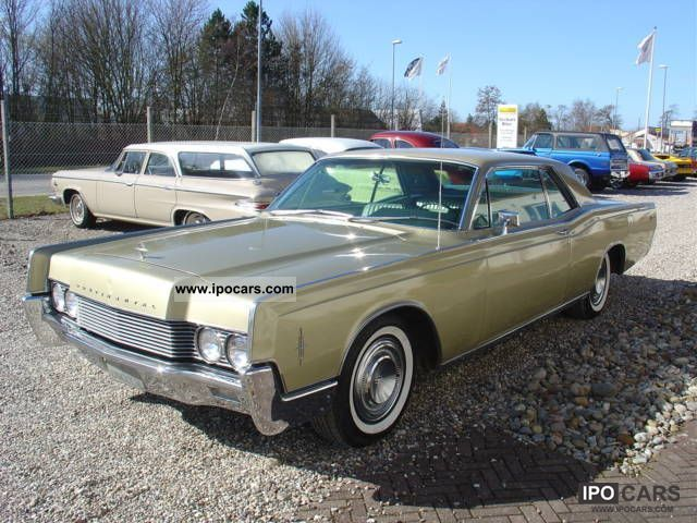 1966 Lincoln Continental Car and Specs