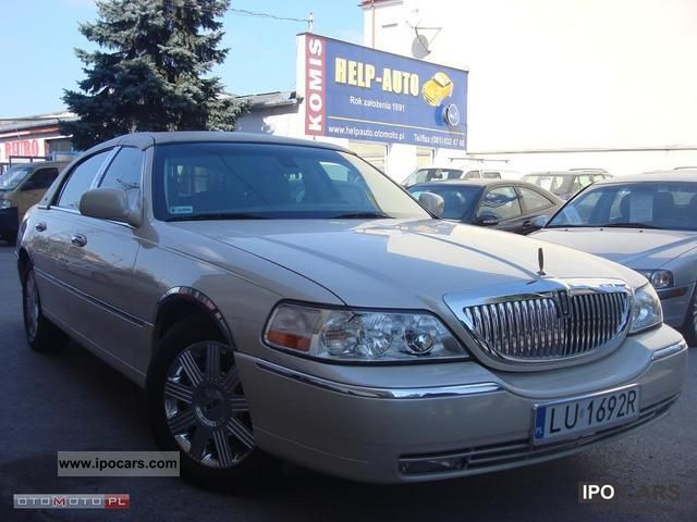 2003 Lincoln  Town Car Cartier! 119 tys.km! Limousine Used vehicle photo