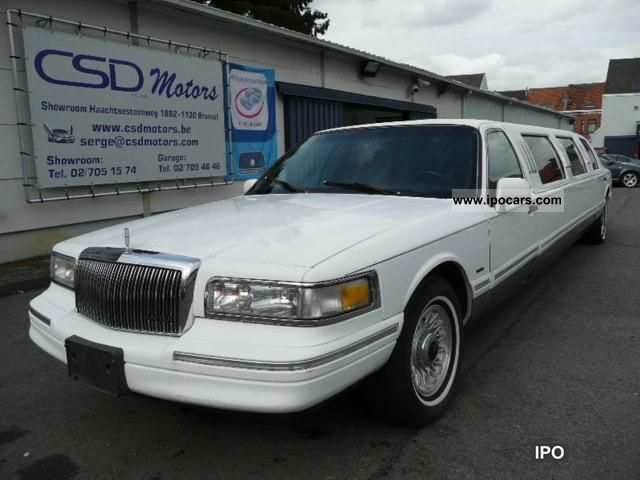 1996 Lincoln  Town Car STRETCHLIMOUSINE 120 LIMITED `` erkend Limousine Used vehicle photo