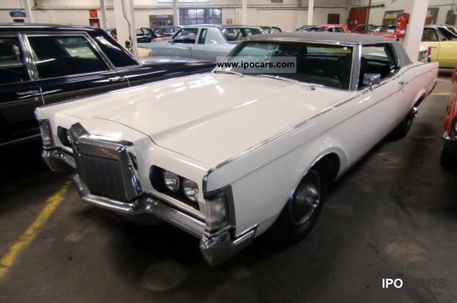 Lincoln  Continental Mark III 7.5 liter big block 365 hp 1969 Vintage, Classic and Old Cars photo