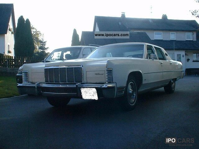 Lincoln  Town Car Limousine 1976 Vintage, Classic and Old Cars photo
