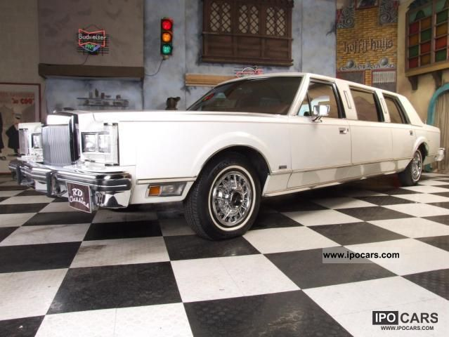 1981 Lincoln Continental Towncar Limousine Car Photo And Specs