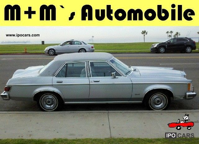 Lincoln  Versailles first Hd / top condition / very rare 1977 Vintage, Classic and Old Cars photo