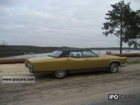 1971 Lincoln  Continental Town Car theese Limousine Used vehicle photo