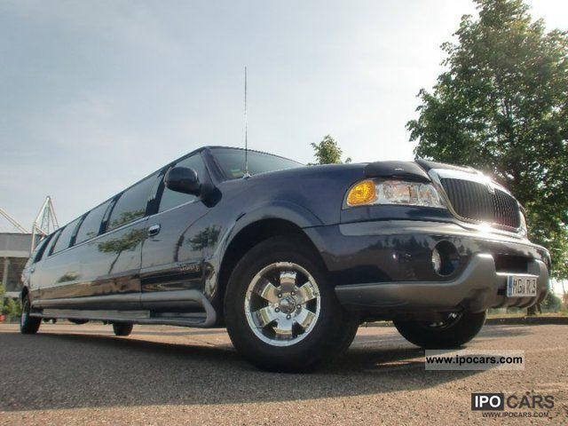 1998 Lincoln  Navigator stretch limousine 10m German Papers Limousine Used vehicle photo