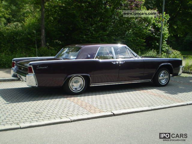 Lincoln  Continental 1962 Vintage, Classic and Old Cars photo